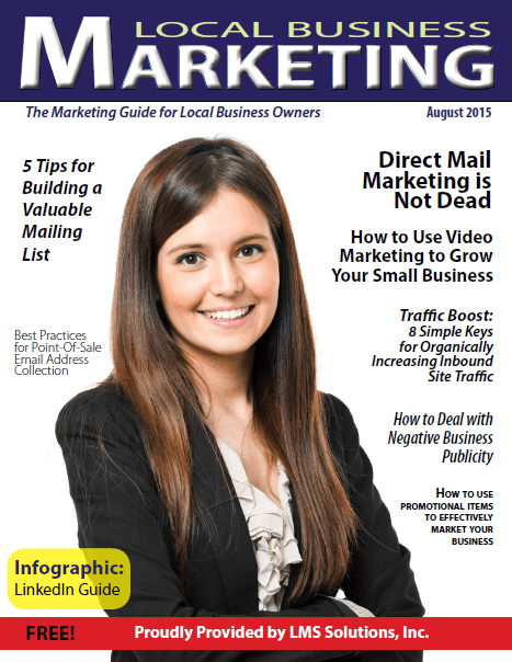 August 2015 Local Business Marketing Magazine