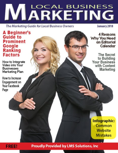 January 2018 Local Business Marketing Magazine