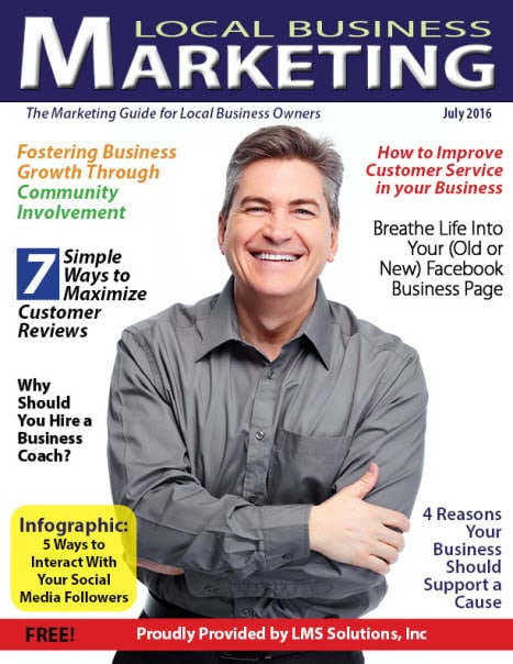 July 2016 Local Business Marketing Magazine