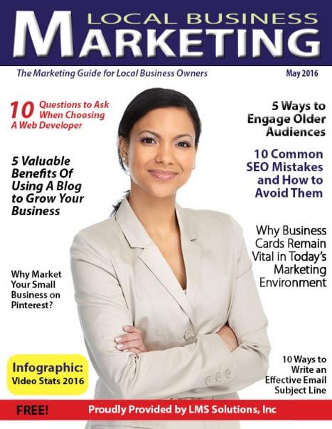 May 2016 Local Business Marketing Magazine