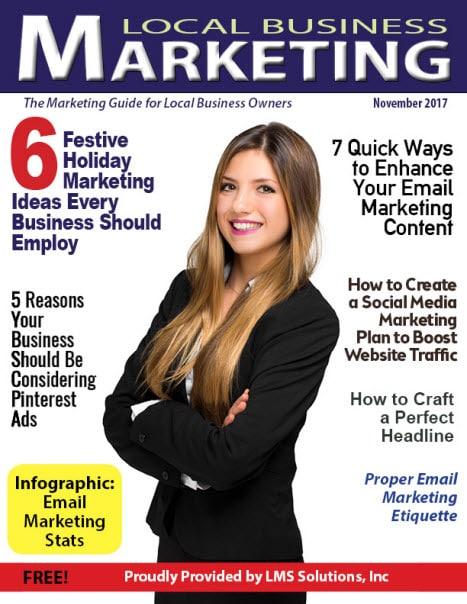 November 2017 Local Business Marketing Magazine