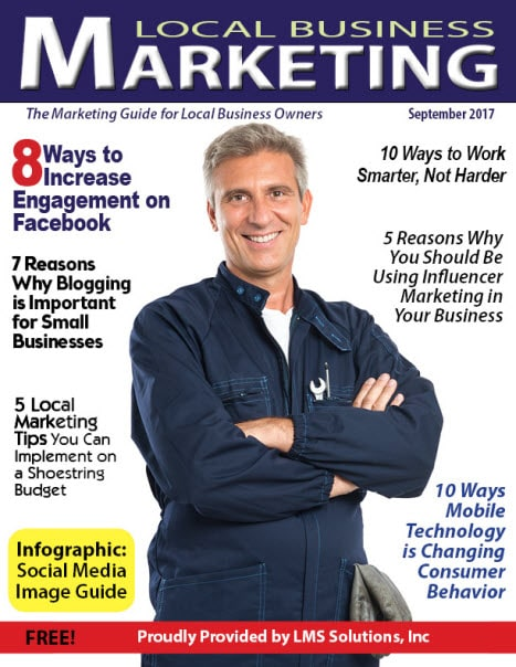September 2017 Local Business Marketing Magazine