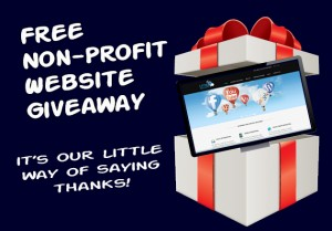 nonprofit website giveaway