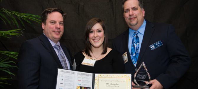 LMS Solutions Wins Small Business of the Year Award at PV Stars Gala