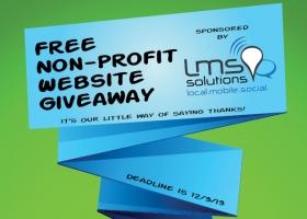 Non-Profit Website Giveaway