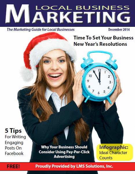 December 2014 Local Business Marketing Magazine