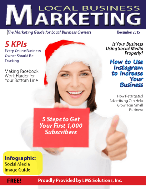 December 2015 Local Business Marketing Magazine