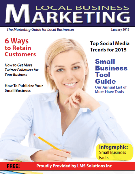 January 2015 Local Business Marketing Magazine