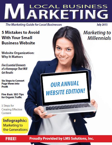 July 2015 Local Business Marketing Magazine