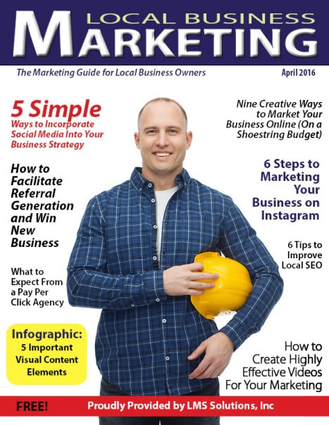 April 2016 Local Business Marketing Magazine