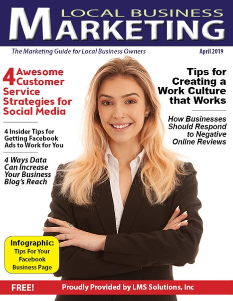April 2019 Local Business Marketing Magazine