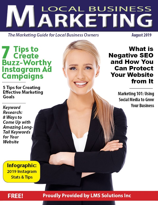 July 2019 Local Business Marketing Magazine