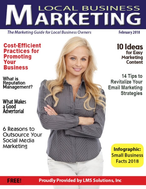 February 2018 Local Business Marketing Magazine