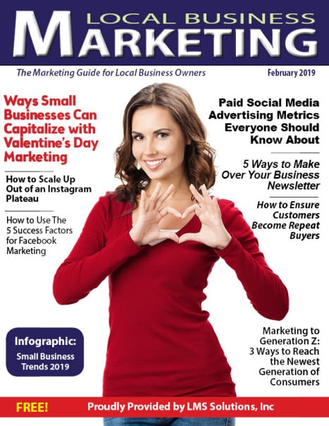 February 2019 Local Business Marketing Magazine