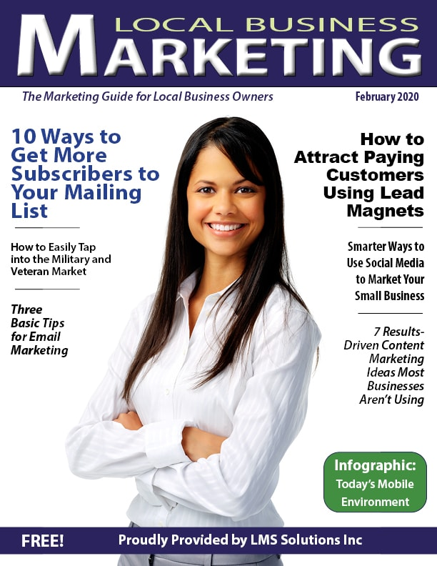 February 2020 Local Business Marketing Magazine