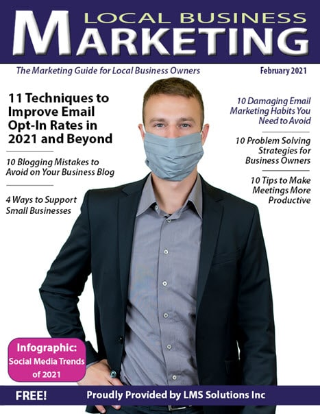 February 2021 Local Business Marketing Magazine