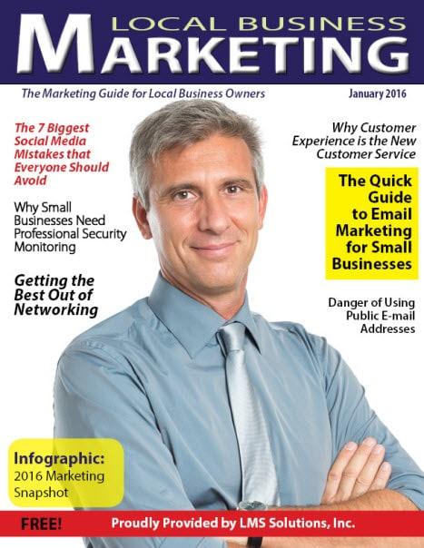 January 2016 Local Business Marketing Magazine
