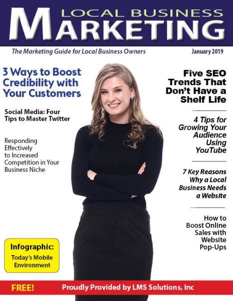 December 2018 Local Business Marketing Magazine