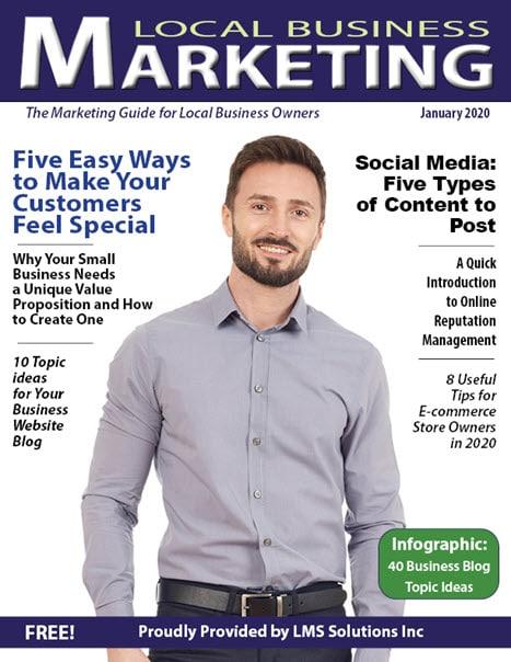 January 2020 Local Business Marketing Magazine