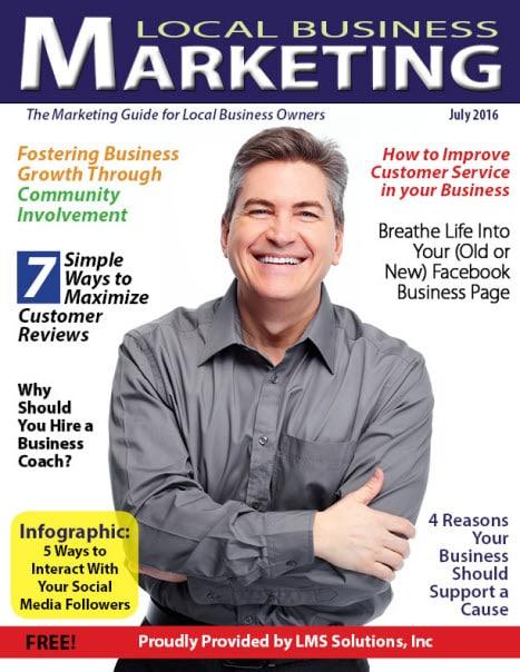 July 2016 Local Business Marketing Magazine