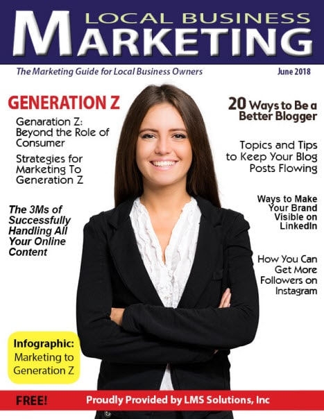 June 2018 Local Business Marketing Magazine