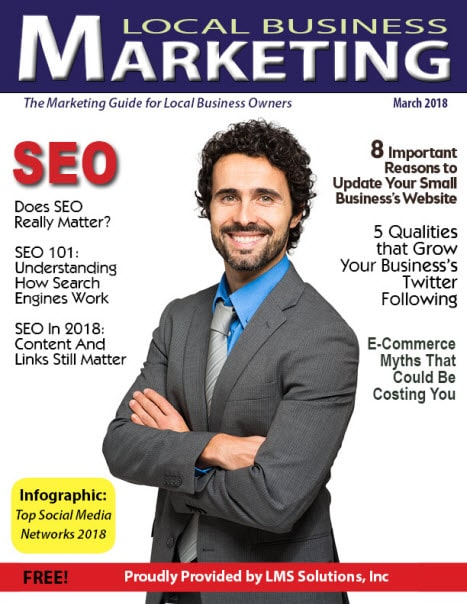 March 2018 Local Business Marketing Magazine