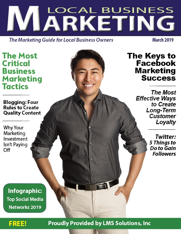March 2019 Local Business Marketing Magazine
