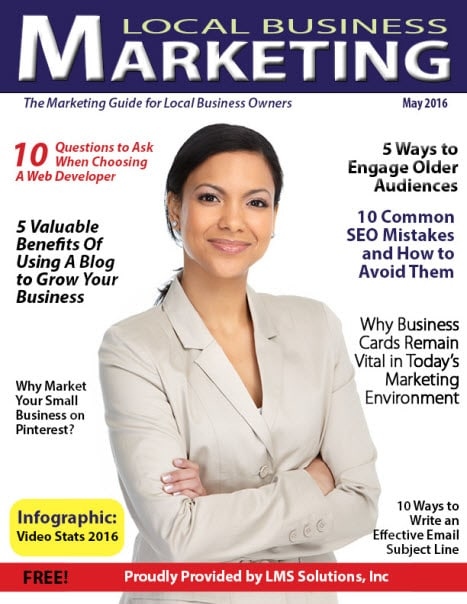 May 2016 Local Business Marketing Magazine