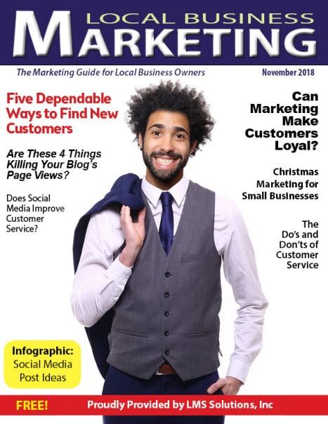 November 2018 Local Business Marketing Magazine