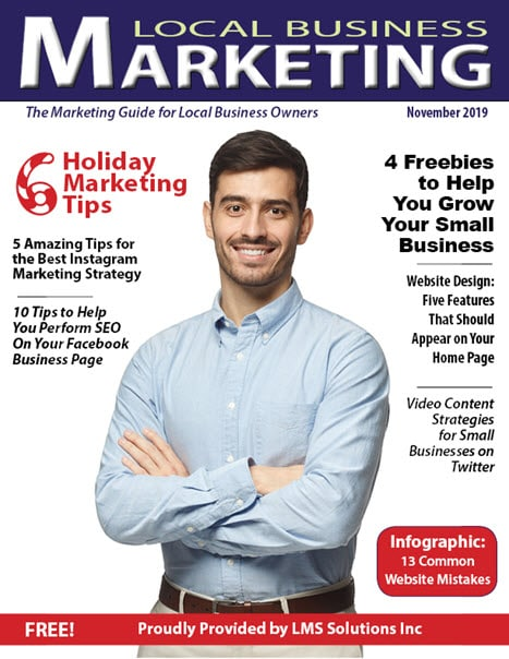 November 2019 Local Business Marketing Magazine