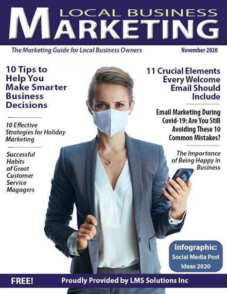 November 2020 Local Business Marketing Magazine