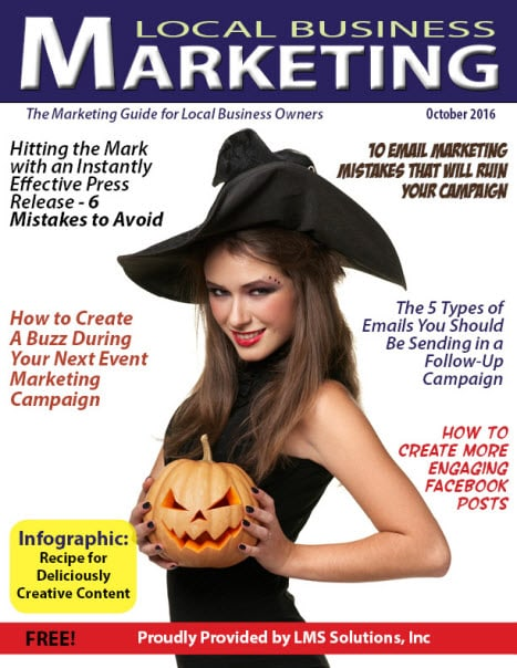 October 2016 Local Business Marketing Magazine