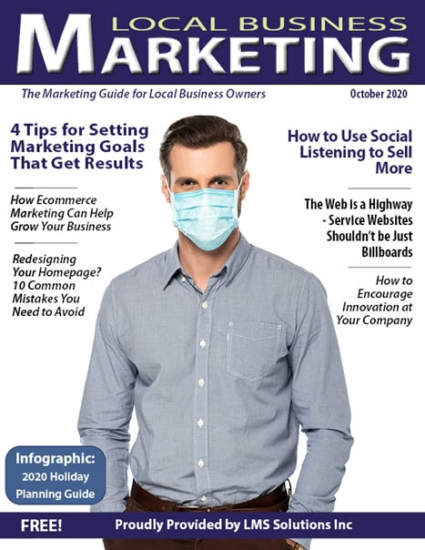 October 2020 Local Business Marketing Magazine