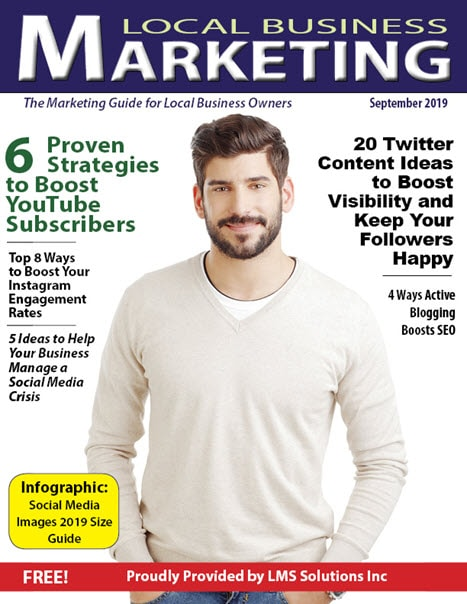 September 2019 Local Business Marketing Magazine