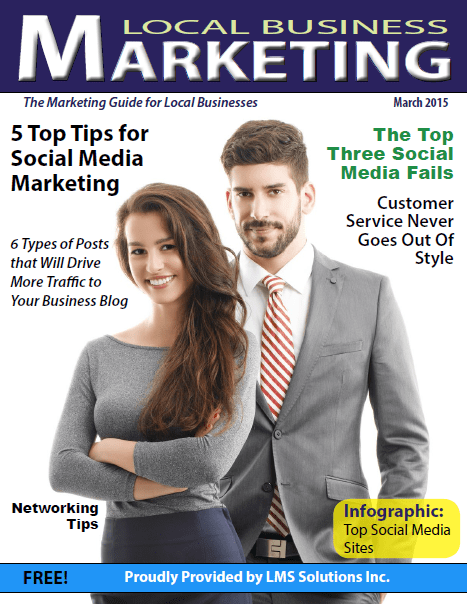 March 2015 Local Business Marketing Magazine