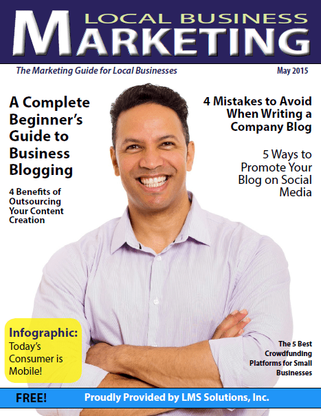 May 2015 Local Business Marketing Magazine