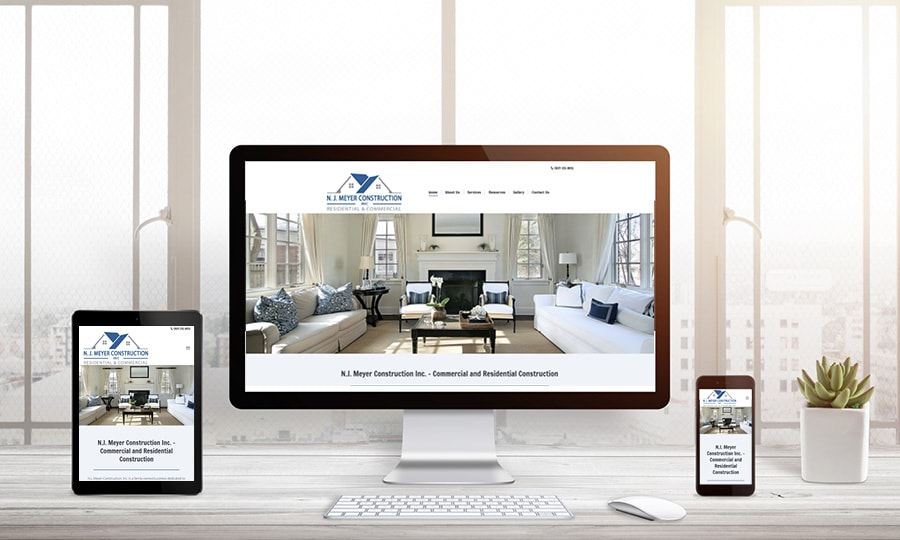 NJ Meyer Homes Website Design | LMS Solutions