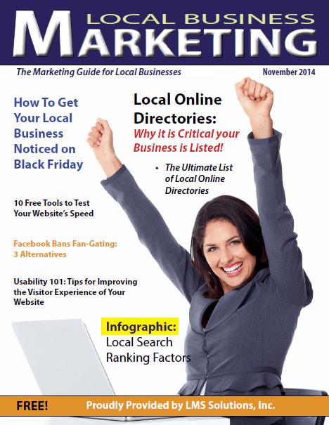 November 2014 Local Business Marketing Magazine