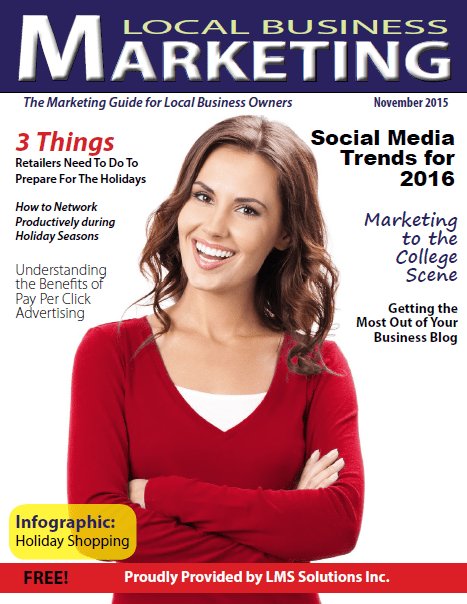 November 2015 Local Business Marketing Magazine