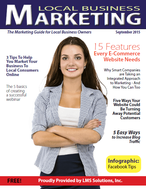 September 2015 Local Business Marketing Magazine